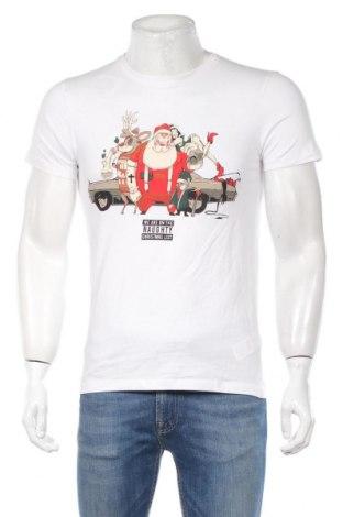 Мъжка тениска House, Размер S, Цвят Бял, Памук, Цена 24,00лв.