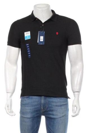 Pánske tričko  Izod, Veľkosť S, Farba Čierna, 60% bavlna, 40% polyester, Cena  12,62€