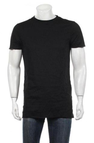 Pánske tričko  New Look, Veľkosť S, Farba Čierna, Bavlna, Cena  10,39€