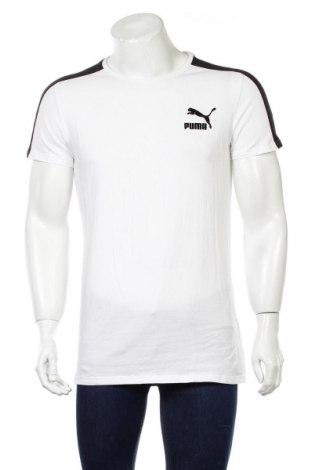 Pánské tričko  PUMA, Rozměr M, Barva Bílá, 95% bavlna, 5% elastan, Cena  616,00Kč