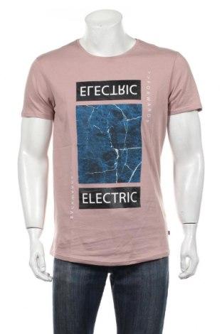 Pánske tričko  Q/S by S.Oliver, Veľkosť L, Farba Popolavo ružová, Bavlna, Cena  10,76€