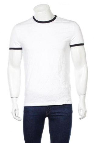 Męski T-shirt Reserved, Rozmiar S, Kolor Biały, Bawełna, Cena 61,20zł