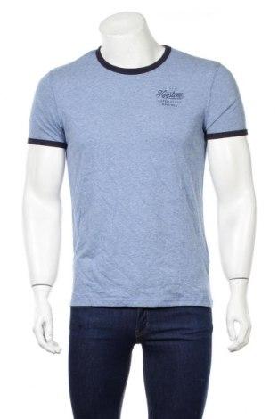 Ανδρικό t-shirt Reserved, Μέγεθος S, Χρώμα Μπλέ, 80% βαμβάκι, 20% πολυεστέρας, Τιμή 9,64€