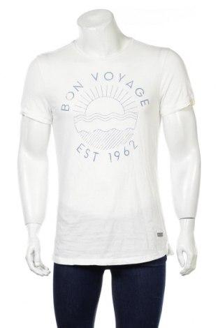 Pánske tričko  Tom Tailor, Veľkosť M, Farba Biela, Bavlna, Cena  14,47€