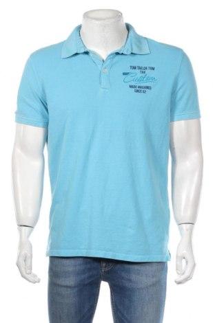 Pánske tričko  Tom Tailor, Veľkosť L, Farba Modrá, Bavlna, Cena  17,07€