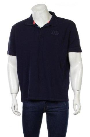 Ανδρικό t-shirt Tom Tailor, Μέγεθος 3XL, Χρώμα Μπλέ, Βαμβάκι, Τιμή 17,07€