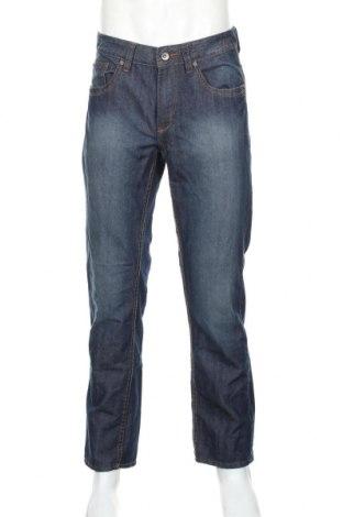 Pánské džíny  Angelo Litrico, Rozměr M, Barva Modrá, 56% bavlna, 44% polyester, Cena  414,00Kč