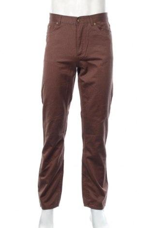 Pánské džíny  Authentic Clothing, Rozměr M, Barva Hnědá, Bavlna, Cena  558,00Kč