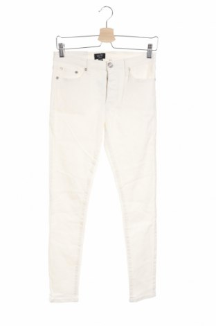 Pánske džínsy  Boohoo, Veľkosť S, Farba Biela, 98% bavlna, 2% elastan, Cena  17,07€