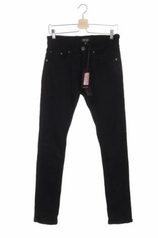 Pánske džínsy  Boohoo, Veľkosť M, Farba Čierna, 98% bavlna, 2% elastan, Cena  17,07€