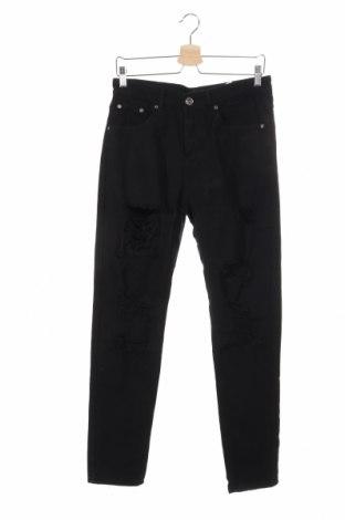 Pánske džínsy  Boohoo, Veľkosť S, Farba Čierna, 95% bavlna, 5% elastan, Cena  20,04€
