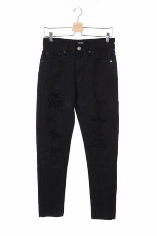 Pánske džínsy  Boohoo, Veľkosť S, Farba Čierna, 95% bavlna, 5% elastan, Cena  19,30€