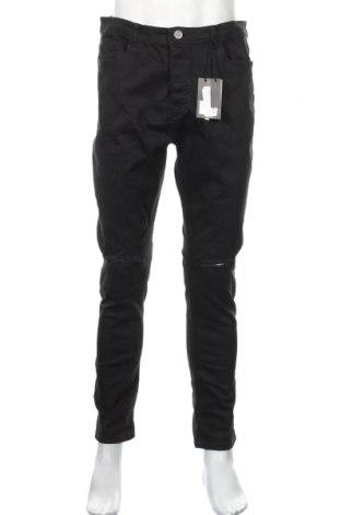 Pánske džínsy  Brave Soul, Veľkosť L, Farba Čierna, 98% bavlna, 2% elastan, Cena  21,90€