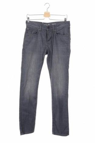 Мъжки дънки C&A, Размер S, Цвят Сив, 98% памук, 2% еластан, Цена 28,20лв.