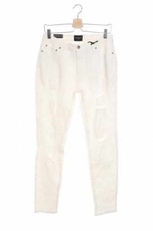 Pánske džínsy  Distruct, Veľkosť S, Farba Biela, 98% bavlna, 2% elastan, Cena  23,01€