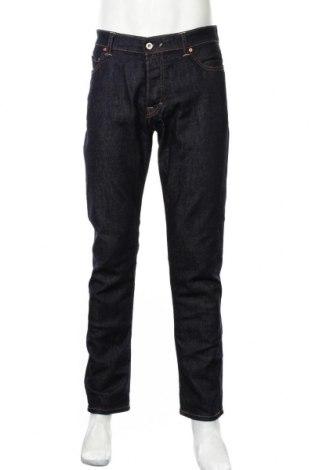 Мъжки дънки Franklin & Marshall, Размер L, Цвят Син, 98% памук, 2% еластан, Цена 30,40лв.