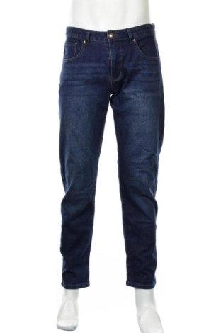 Pánské džíny  Gino Marcello, Rozměr M, Barva Modrá, 65% bavlna, 33% polyester, 2% elastan, Cena  430,00Kč