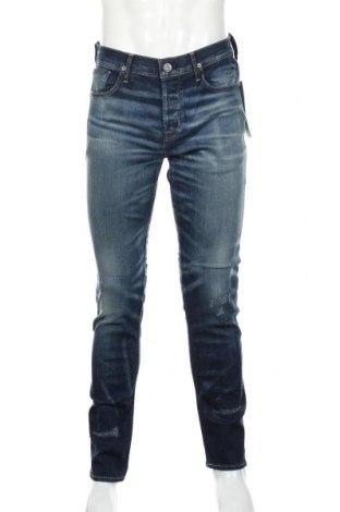 Мъжки дънки Hudson, Размер M, Цвят Син, 98% памук, 2% еластан, Цена 125,40лв.