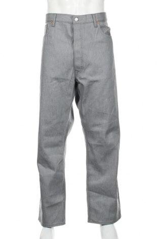 Мъжки дънки Levi's, Размер XL, Цвят Сив, Памук, Цена 44,23лв.
