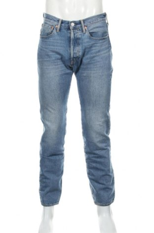 Мъжки дънки Levi's, Размер M, Цвят Син, 99% памук, 1% еластан, Цена 43,92лв.