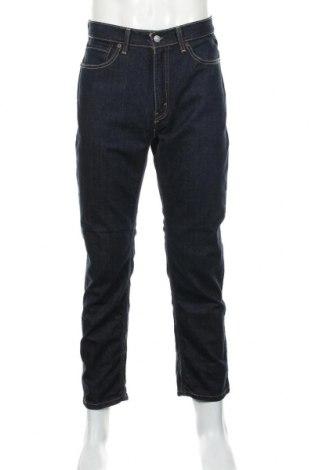 Мъжки дънки Levi's, Размер L, Цвят Син, 99% памук, 1% еластан, Цена 43,70лв.