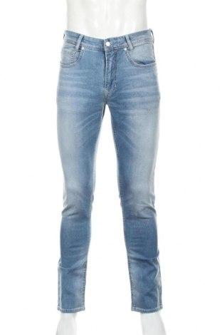 Мъжки дънки Mac, Размер M, Цвят Син, 90% памук, 8% полиестер, 2% еластан, Цена 23,75лв.