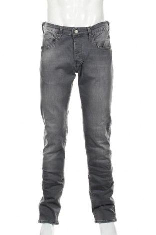 Мъжки дънки Mavi, Размер L, Цвят Сив, 98% памук, 2% еластан, Цена 30,88лв.