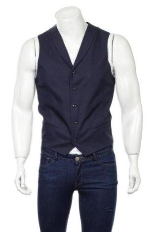Pánska vesta  Won Hundred, Veľkosť M, Farba Modrá, 55% bavlna, 45% lyocell, Cena  21,12€