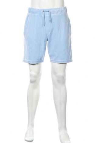 Pánske kraťasy  Boohoo, Veľkosť L, Farba Modrá, 100% polyester, Cena  11,87€