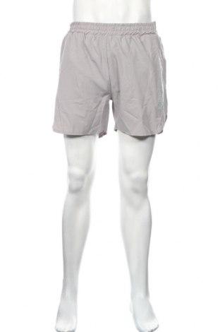 Pánske kraťasy  Boohoo, Veľkosť XL, Farba Sivá, Polyester, Cena  11,14€