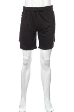 Pánske kraťasy  Boohoo, Veľkosť L, Farba Čierna, 52% bavlna, 48% polyester, Cena  11,14€