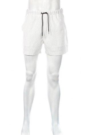 Pánske kraťasy  Boohoo, Veľkosť L, Farba Biela, 5% elastan, 95% polyester, Cena  12,99€