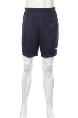 Pantaloni scurți de bărbați PUMA, Mărime M, Culoare Albastru, Poliester, Preț 111,79 Lei