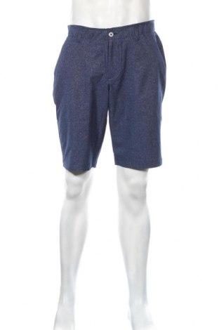 Pantaloni scurți de bărbați Under Armour, Mărime L, Culoare Albastru, Poliester, Preț 111,79 Lei