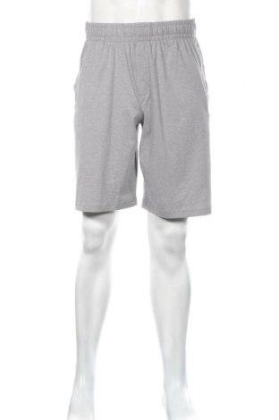 Pantaloni scurți de bărbați Under Armour, Mărime L, Culoare Gri, 57% bumbac, 38% poliester, 5% elastan, Preț 116,45 Lei
