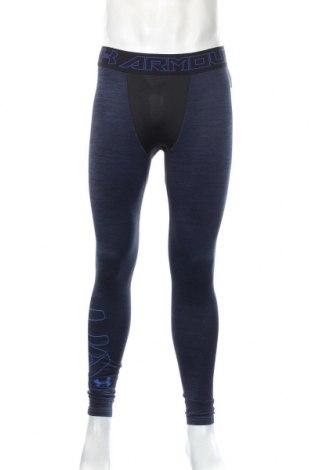Męskie legginsy Under Armour, Rozmiar L, Kolor Niebieski, 88% poliester, 12% elastyna, Cena 110,40zł
