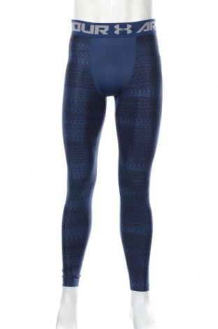 Męskie legginsy Under Armour, Rozmiar L, Kolor Niebieski, 79% poliester, 21% elastyna, Cena 118,80zł