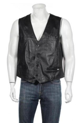 Pánska kožená vesta  Jofama, Veľkosť XL, Farba Čierna, Pravá koža , Cena  21,12€
