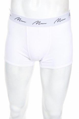 Pánsky komplet  Boohoo, Veľkosť L, Farba Biela, 65% bavlna, 30% polyester, 5% elastan, Cena  10,82€