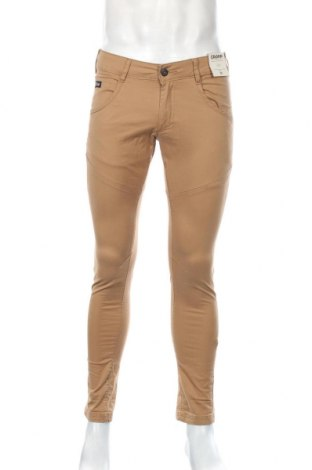 Ανδρικό παντελόνι Cropp, Μέγεθος M, Χρώμα  Μπέζ, 98% βαμβάκι, 2% ελαστάνη, Τιμή 20,32€