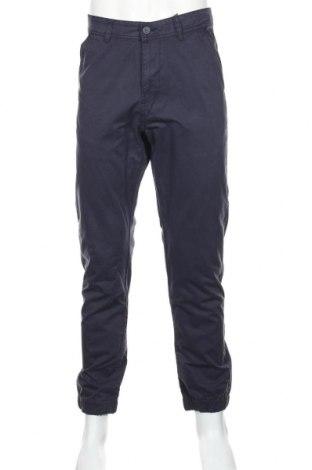 Pánske nohavice  Cropp, Veľkosť L, Farba Modrá, Bavlna, Cena  21,65€