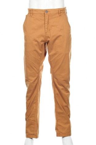 Pánske nohavice  Cropp, Veľkosť XL, Farba Žltá, 98% bavlna, 2% elastan, Cena  20,10€