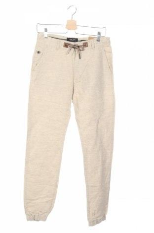Pantaloni de bărbați House, Mărime S, Culoare Bej, 51% bumbac, 27% in, 22% viscoză, Preț 92,84 Lei