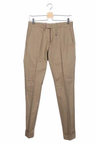 Ανδρικό παντελόνι Mango, Μέγεθος S, Χρώμα  Μπέζ, 97% βαμβάκι, 3% ελαστάνη, Τιμή 24,49€