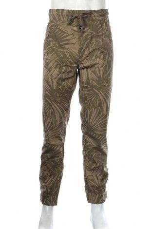 Pánske nohavice  Reserved, Veľkosť L, Farba Zelená, Bavlna, Cena  21,65€