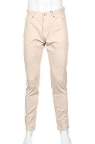 Pánske nohavice  Reserved, Veľkosť M, Farba Béžová, 98% bavlna, 2% elastan, Cena  21,65€