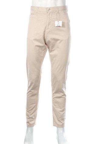Pánske nohavice  Reserved, Veľkosť M, Farba Béžová, Bavlna, Cena  22,43€