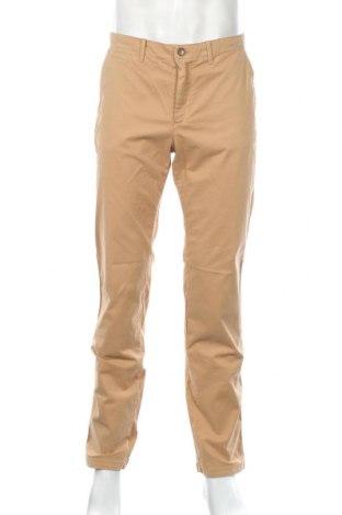Мъжки панталон United Colors Of Benetton, Размер M, Цвят Бежов, 96% памук, 4% еластан, Цена 48,30лв.