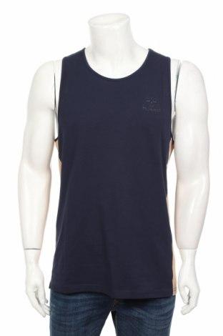 Pánské tilko  Hummel, Rozměr L, Barva Modrá, 96% bavlna, 4% elastan, Cena  355,00Kč
