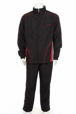 Ανδρικό αθλητικό σετ Fz Forza, Μέγεθος XL, Χρώμα Μαύρο, Πολυεστέρας, Τιμή 20,36€